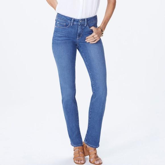 NYDJ Denim - NYDJ Marilyn Straight Leg Jean Size 10